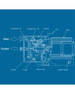 ANEST IWATA DVSL-100C - SERVICE