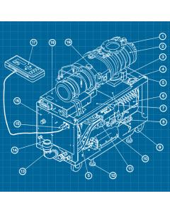 Edwards Stokes iQDP80 / QMB1200 - SERVICE