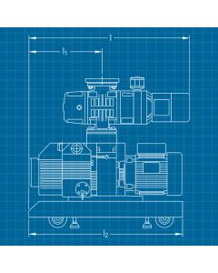 Leybold W 151 / D40B - SERVICE